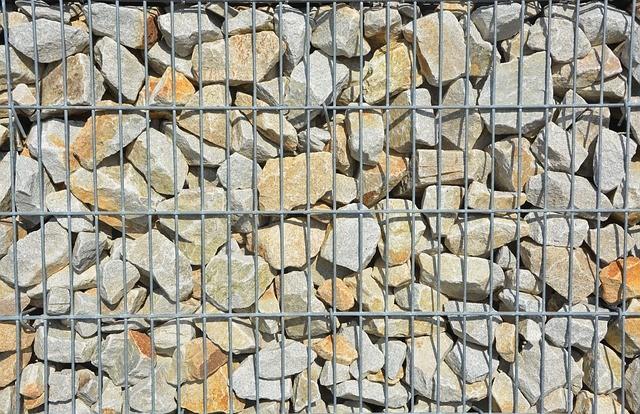 Los muros de Gavión
