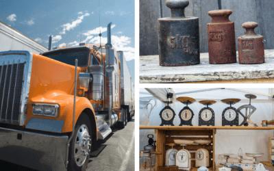 Algunas de las básculas más utilizadas para camiones de la construcción