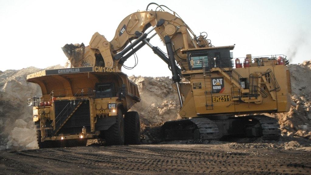 La excavadora hidráulica Cat 6120B H FS