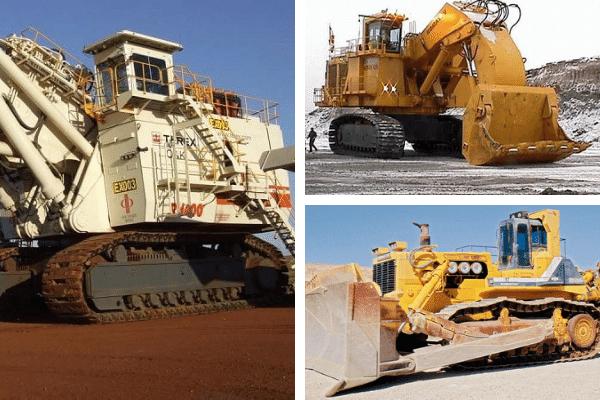Las excavadoras más grandes del mundo