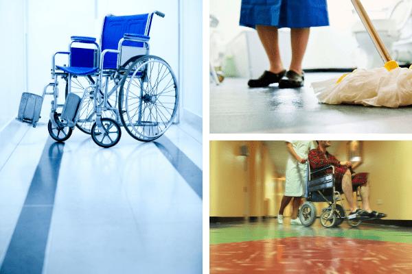 Pisos homogéneos, la mejor opción para reformar el piso en un hospital